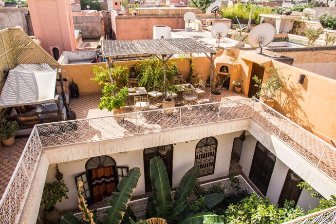 Marokko: Bijzonder overnachten in een riad in Marrakech