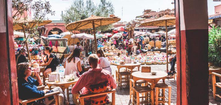 Leuke restaurants in Marrakech