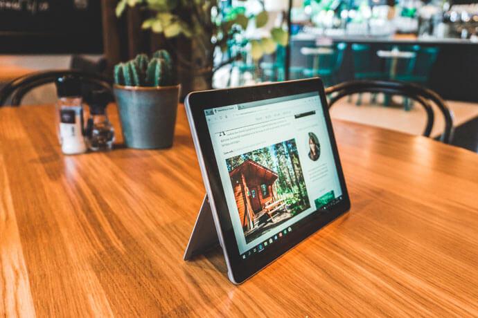 Microsoft Surface Go, de beste laptop voor op reis?