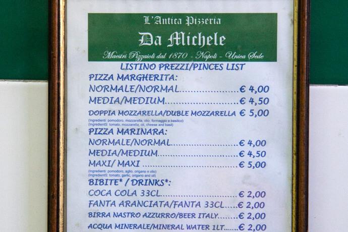 Napels Pizzeria Da Michele
