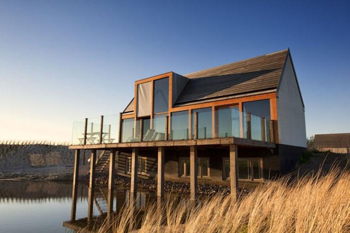 Bijzonder overnachten op Texel: natuurhuisje in Den Hoorn
