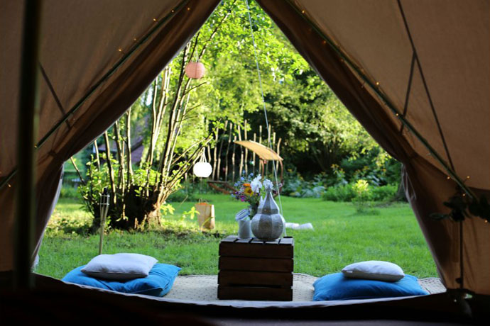 Glamping in Duitsland