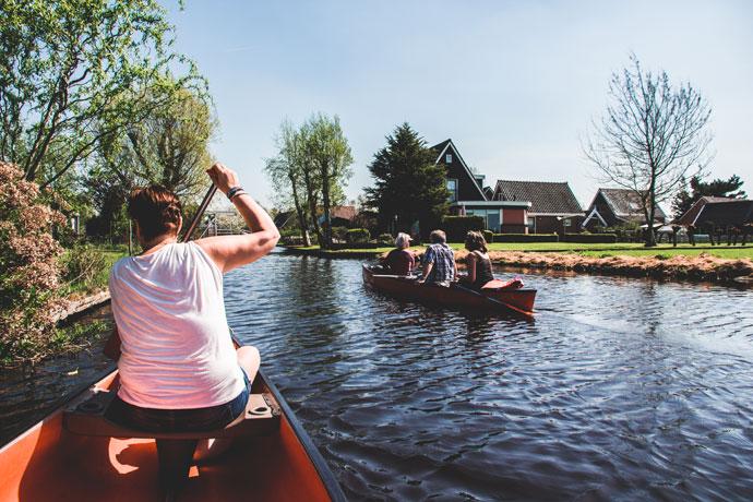 Watergang, Noord-Holland