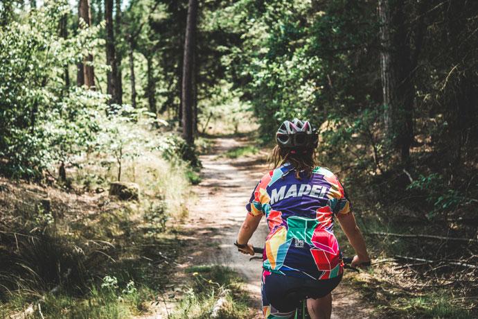 Doen tijdens een weekendje Friesland: Mountainbiken in Appelscha
