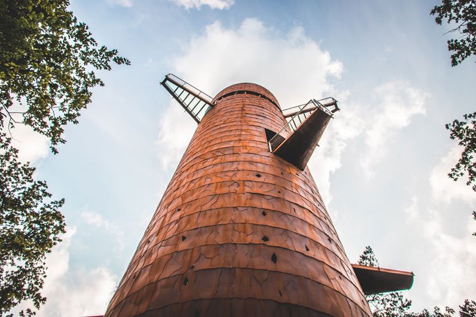Bosbergtoren in Appelscha, Friesland
