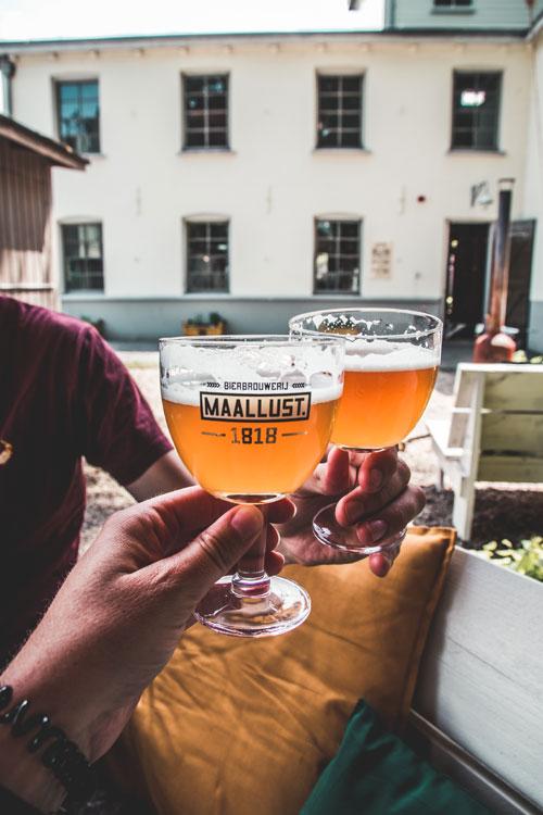 Brouwerij Maallust in Veenhuizen