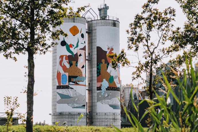Silo Art Tour in Winterswijk