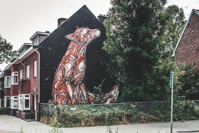 Street art in Heerlen: Dzia
