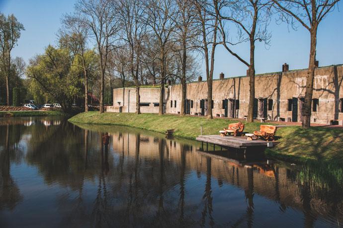 Fort Resort Beemster, Stelling van Amsterdam