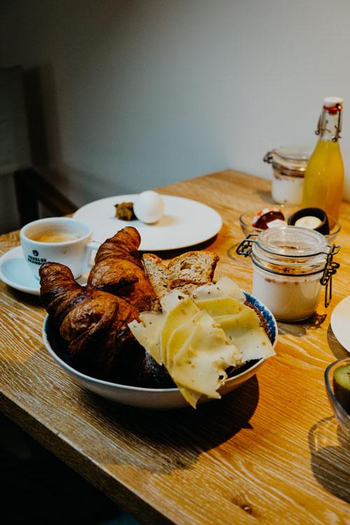 Ontbijt bij Op Oost, Texel