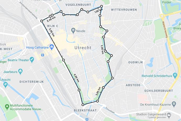 Suppen in Utrecht op de Oudegracht en Kromme Rijn