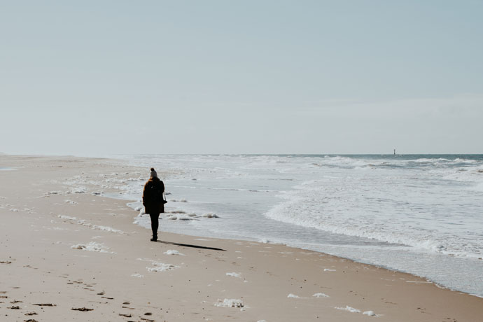 Stranden van Texel