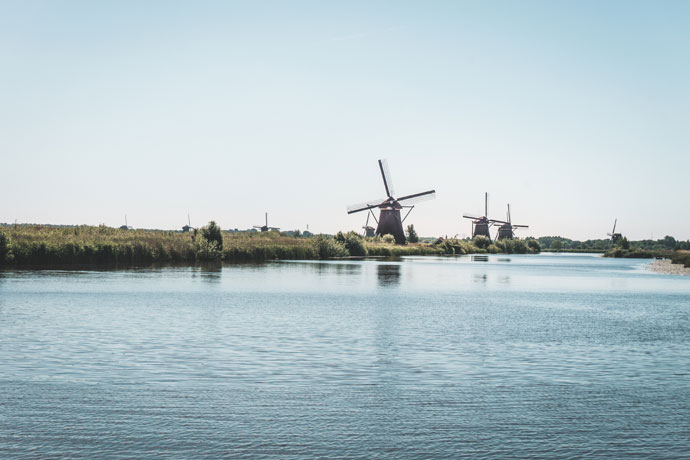 Suppen in Kinderdijk