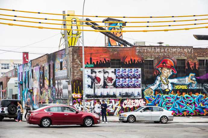 New York: Street art spotten in Bushwick, Brooklyn