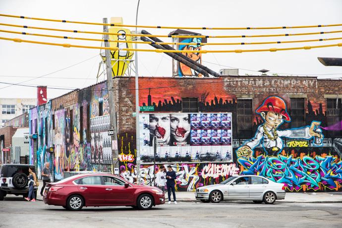New York: Street art spotten in Bushwick, Brooklyn