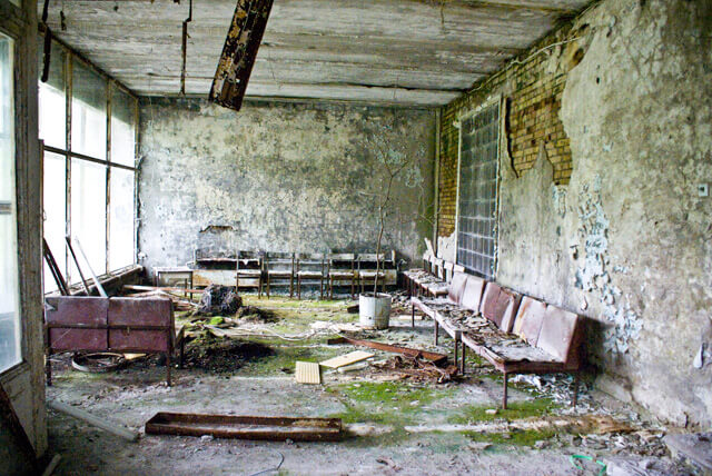Tsjernobyl bezoeken: excursie naar spookstad Pripyat