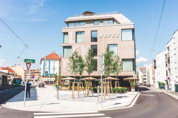 Lendhotel Graz, Oostenrijk