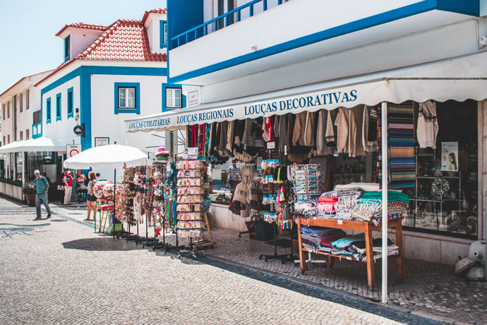 Winkelen in Ericeira