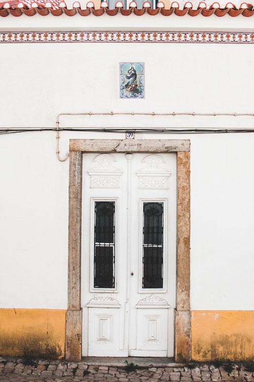Het oude centrum van Ericeira