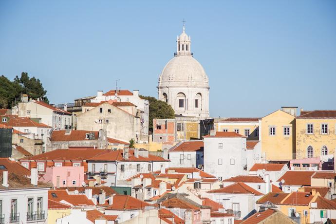 Bezienswaardigheden in Lissabon Alfama