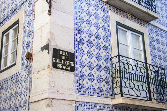 Portugal Lissabon Alfama