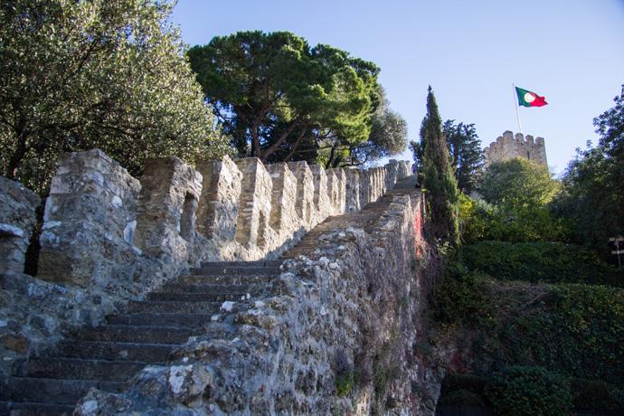 Castelo de Sao Jorge - bezienswaardigheden in Lissabon