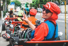 Ik ging Mariokarten in Tokyo en dat was SUPER VET