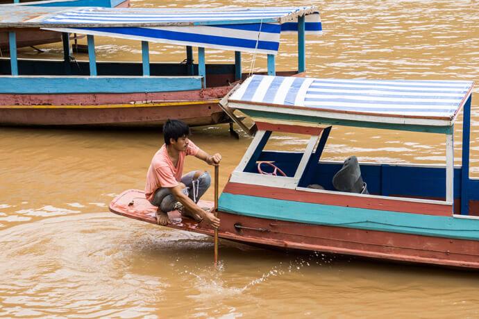 Regenseizoen in Azië