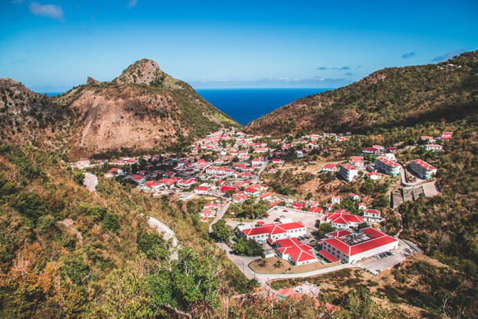 Vakantie Saba: ecoparadijs in het Caribisch gebied