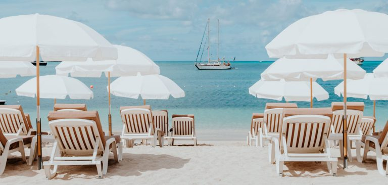 Strand in Sint Maarten
