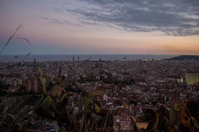 Het mooiste uitzichtpunt van Barcelona: Bunkers del Carmel