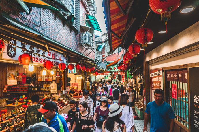 Dagtrip Jiufen vanuit Taipei