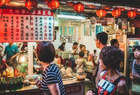 Bezoek het plaatsje Jiufen tijdens een dagtrip vanuit Taipei