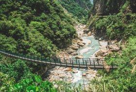 De mooiste plekken in het Taroko Gorge National Park in Taiwan