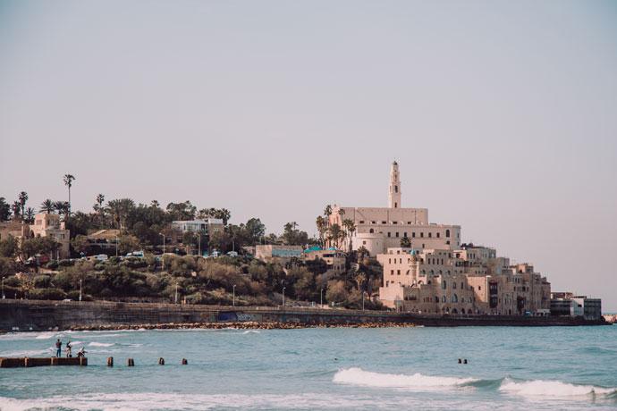Tel Aviv in het najaar