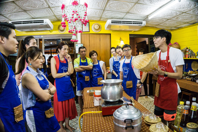 Kookcursus in Bangkok bij Sampong Thai Cooking School