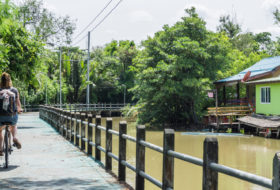 Doen in Bangkok: Fietsen met Bamboo Bicyle Tours Thailand