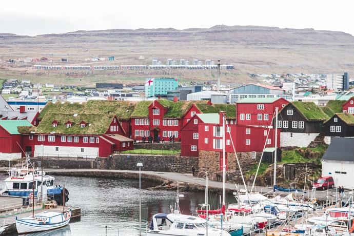 Tórshavn, Faeröer Eilanden