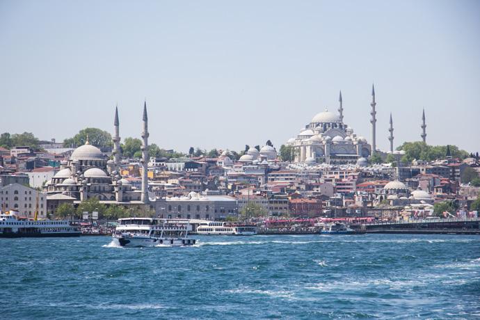 Turkije-Istanbul-Skyline