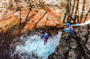 Canyoning Brecon Beacons, Wales