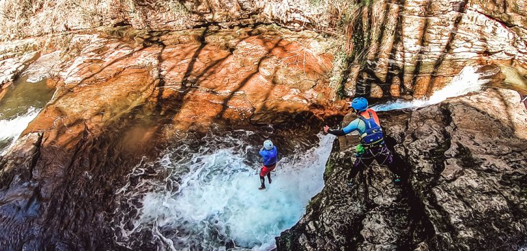 Canyoning Brecon Beacons, Wales