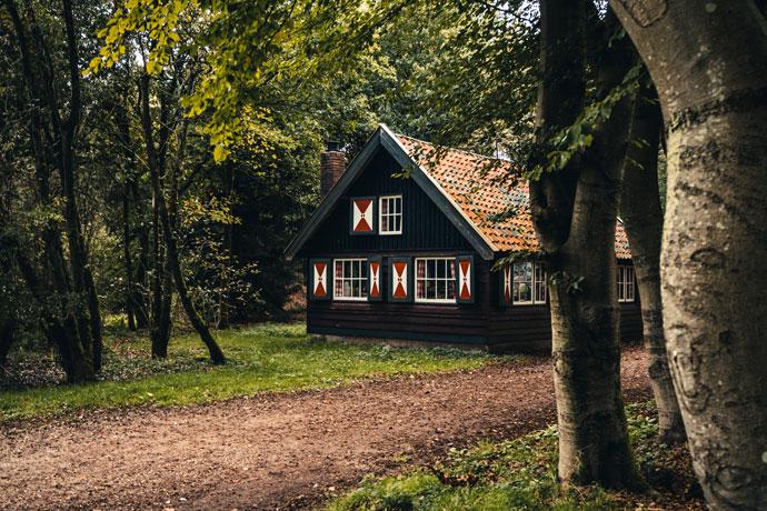 Boshuisje, Utrechtse Heuvelrug