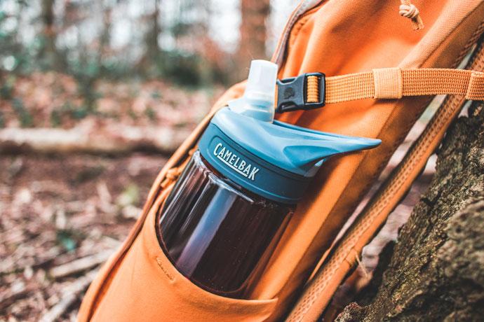 Camelbak waterfles voor op reis