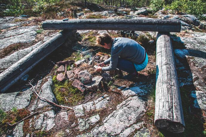 Paklijst wildkamperen