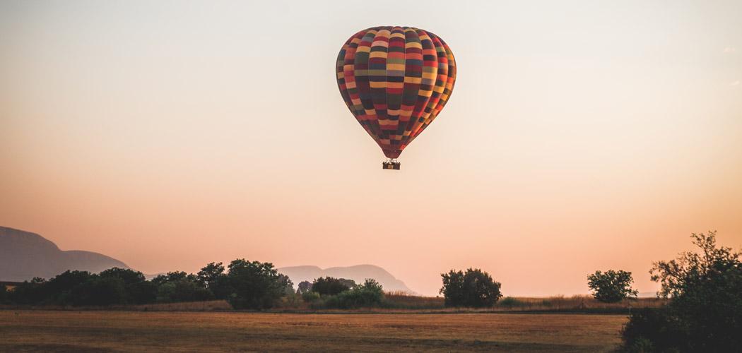 Ballonvaart Zuid-Afrika