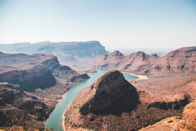 Blyde River Canyon Panoramaroute Zuid Afrika