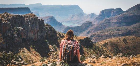 Lowveld View Pont op de Panoramaroute Zuid Afrika