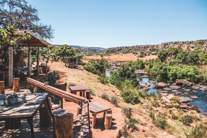 Potluck Boskombuis Panoramaroute Zuid Afrika