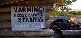 Wildkamperen in Noorwegen en Zweden