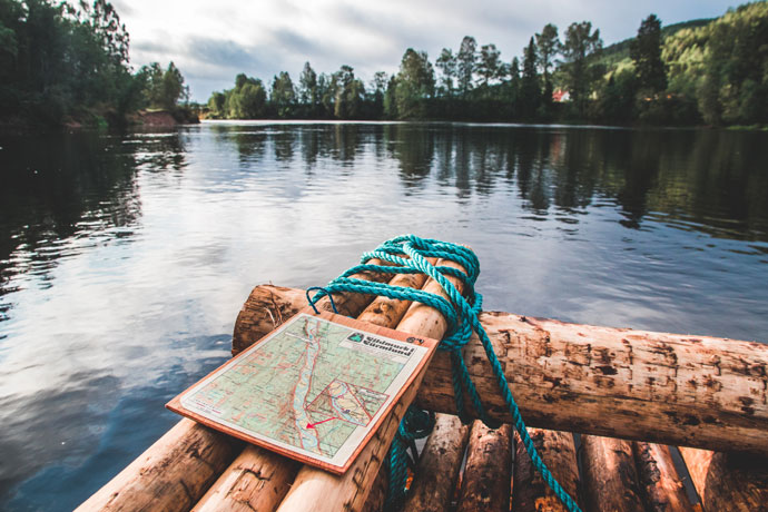 Vlot varen in Zweden